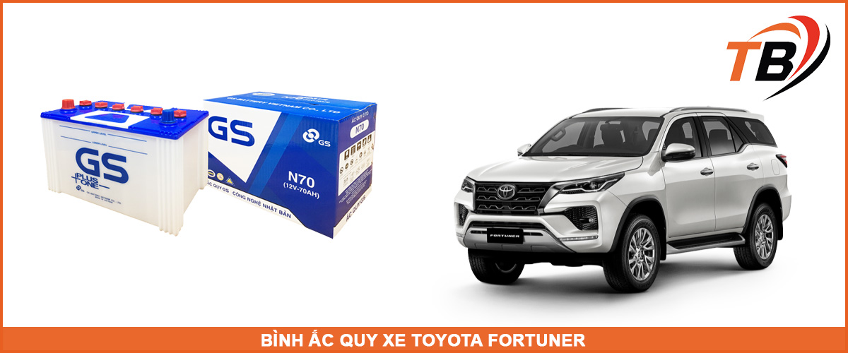 bình ắc quy xe fortuner